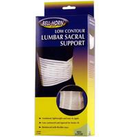 """BellHorn Low Contour Lumbar Sacral Support, Small 24""""  30"""" Waist"""