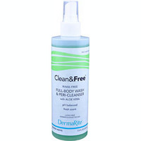 Clean & Free NoRinse Cleanser, 7.5 oz. Bottle