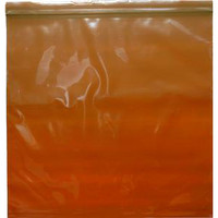 "Amber Seal Top Reclosable Bag, 8"" x 8"""