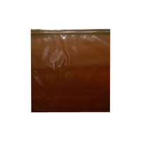 "Amber Seal Top Reclosable Bag, 14"" x 8"""