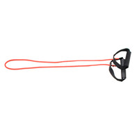 """CanDo Tubing with Handles Exerciser, Red Light, 48"""""""