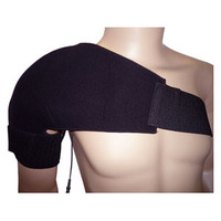 """Sport Shoulder Conductive Garment With (4) 2"""" x 3"""" Fabric Electrodes, Universal"""