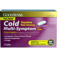 Day and Night Time MultiSymptom Cold Caplet (20 Count)