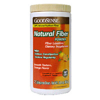 Natural Fiber Powder, 30 oz., Orange