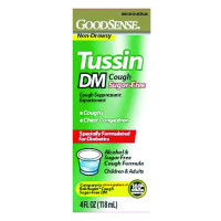 Tussin DM Cough Syrup, 4 oz.
