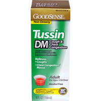 Tussin DM Cough and Chest Syrup for Adults, 4 oz.