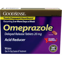 Omeprazole Tablet, 20 mg  (14 Count)