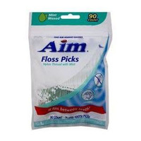 Dental Flossers with Pick, Mint (90 Count)