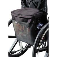 """Wheelchair CarryOn Pouch, 15"""" x 15"""" x 5"""", Black"""