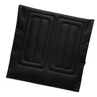 "Black Nylon Seat Upholstery, 22"" x 18"" Chair"