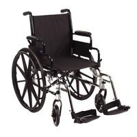 "9000 SL Wheelchair 36"" x 25"" x 30"", 18"" x 16"" Adult Frame, Desk Arm"
