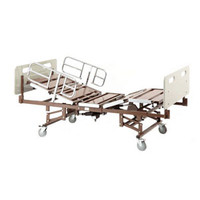 Bariatric Bed Package with BAR750, BARMATTEXP, 750 lb. Capacity