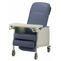 Basic 3Position Recliner, Blueridge