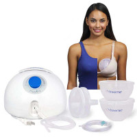 Freemie Freedom Electric Breast Pump with Freemie Hands Free, Concealable Cups