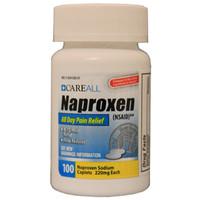 Naproxen Caplets, 220g, 100 Count