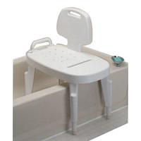 Bath Safe Adj Transfer Bench, Brown Box