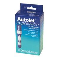 Autolet Impression Adjustable Lancing Device