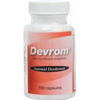 Devrom Capsules, Lactose Free, 100/Bottle