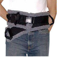 SafetySure Transfer Belt, Sherpa Style, Medium