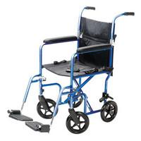 Classics Transport Chair, Metallic Blue