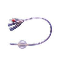 Soft Simplastic 3Way Foley Catheter 22 Fr 30 cc