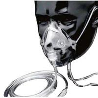 Elongated Oxygen Mask, Medium Concentration,Adult