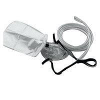 Elongated Partial Rebreathing Oxygen Mask, Each