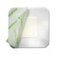 "Alldress Absorbent Film Composite Dressing 6"" x 8"", 4"" x 6"" Pad Size"