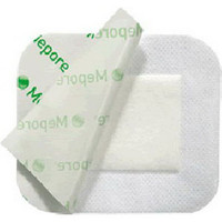"Mepore Adhesive Absorbent Dressing 3.6"" x 14"""