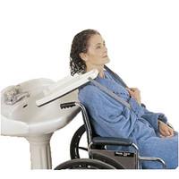 Wheelchair Shampoo Tray w/Straps