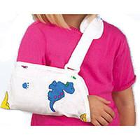 "Pediatric Arm Sling, Envelope Type,Medium 8""X5"""
