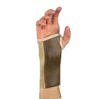 """Beige, Left, Md (3""""3 1/2"""") Elast Wrist Brace,Stay"""