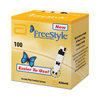 FreeStyle Blood Glucose Test Strip (100 count)