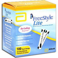 FreeStyle Lite Blood Glucose Test Strip (50 count)