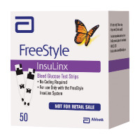 FreeStyle Insulinx Blood Glucose Test Strip (50 count)