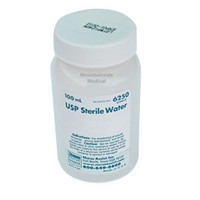USP Sterile Water Screw Top Container 100mL For Wound Care Use