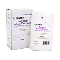 "ReliaMed Sterile Bordered Gauze Dressing 2"" x 31/2"""