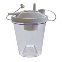 ReliaMed Suction Canister, 800cc with Floater Top