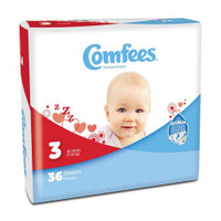 Comfees Baby Diapers - Size 3  48CMF3-Pack(age)
