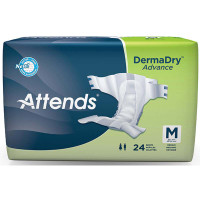 "Attends DermaDry Advance Briefs Medium 32"" - 44""  48DDA20-Pack(age)"