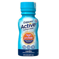 Ensure Active High Protein for Muscle Health Vanilla, 8 oz. Bottle, Retail  5264117-Pack(age)