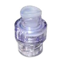 Q-Syte Luer Access Split-Septum Stand-Alone Device 1/10 mL, 32 L/hr Flow Rate  58385100-Case