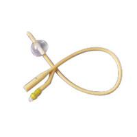 2-Way Silicone-Elastomer Coated Foley Catheter 12 Fr 5 cc  6011752-Each