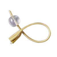 2-Way Silicone-Elastomer Coated Foley Catheter 14 Fr 5 cc  6011754-Each