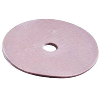 """Collyseal Disc, 4 1/2"""" Yellow, 1/2"""" Opng, 10/Pkg  74224Y-Pack(age)"""