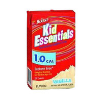 Boost Kid Essentials 1.0 Nutrition Vanilla Flavor 8 oz. Brik Pak  85335100-Each