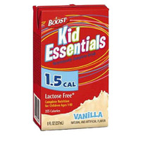 Boost Kid Essentials 1.5 Nutrition Vanilla Flavor 8 oz.  85335400-Case