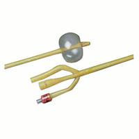 LUBRICATH 3-Way Latex Foley Catheter 18 Fr 30 cc  570167L18-Case