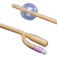 Dover 3-Way Silicone Elastomer Foley Catheter 18 Fr 30 cc  61689183-Pack(age)