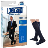 Ambition Knee-High, 15-20, Long, Navy, Size 3  BI7766032-Pack(age)